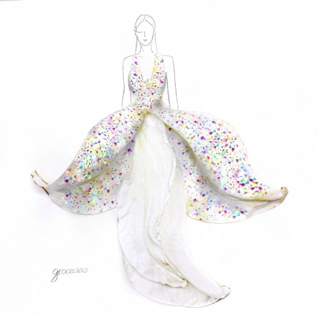 Wedding Gown Illustrations: Fashion Illustrations